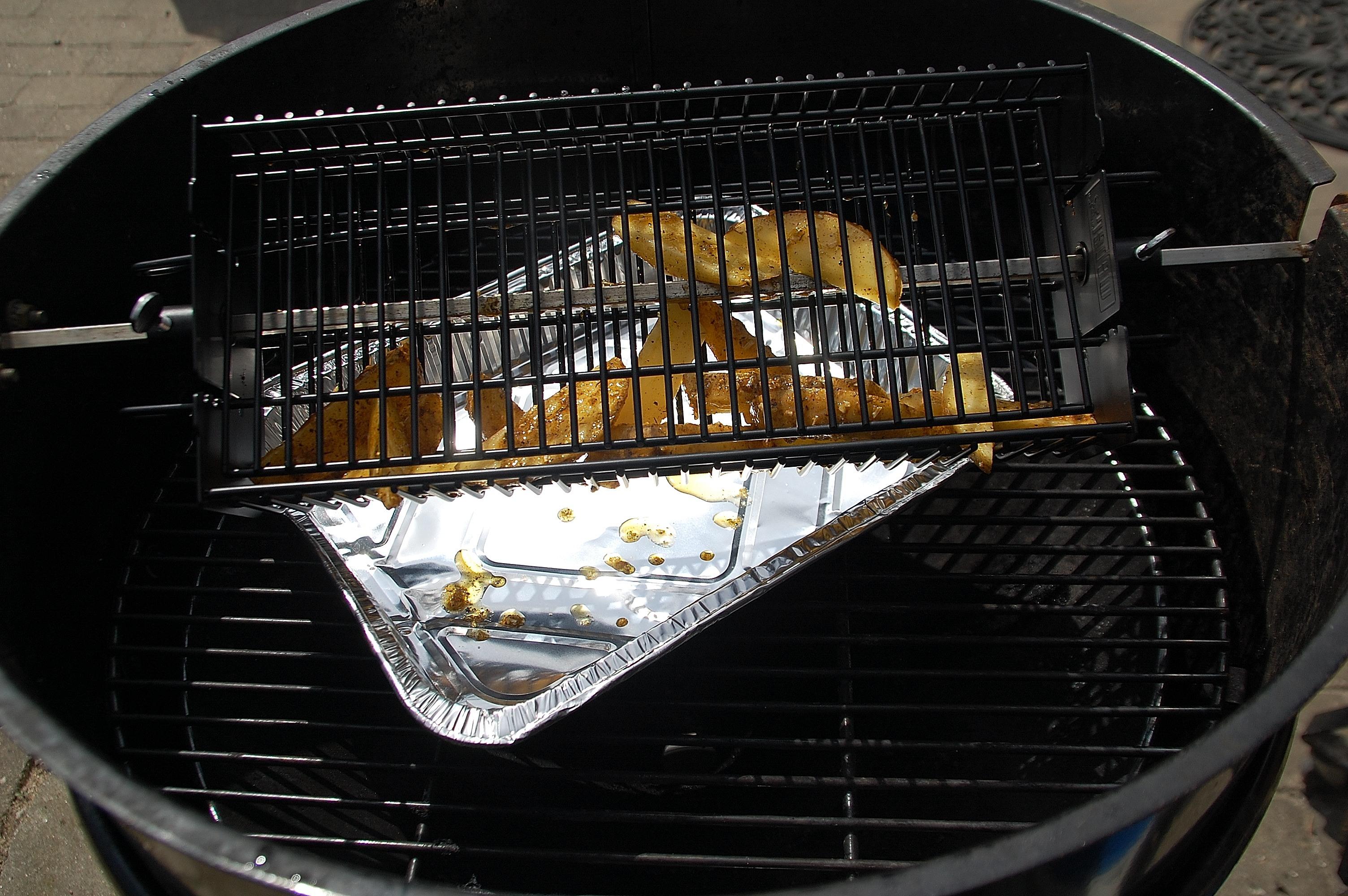 kylling på rotisseri